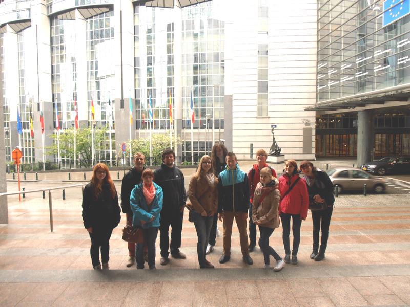 FSJler der KVHS Norden besuchten im Rahmen der Politischen Bildung die europäische Hauptstadt Brüssel. (Foto: ts, CC-by-3.0)