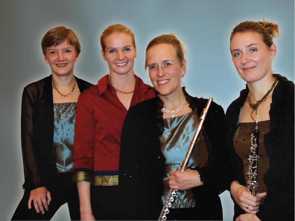Das Ensemble Tityre spielt am 7.9. im Bürgerhaus Norden. (Foto: Bürgerstiftung Norden)