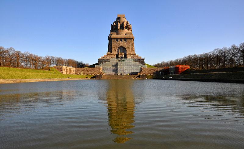 Das Leipziger Völkerschlachtdenkmal steht im Zentrum des Vortrags. (Foto: Tobi 87 / cc-by-sa-3.0)