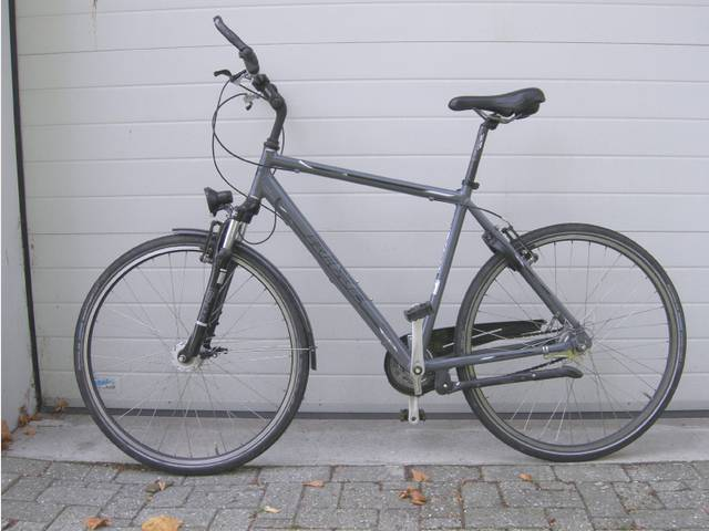 Marienhafe: Der Eigentümer dieses Rades wird als Geschädigter gesucht. (Foto: Polizeiinspektion Aurich/Wittmund)