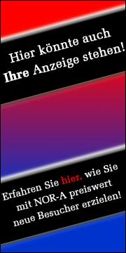 Werben auf NOR-A.de - zum Beispiel mit einer Anzeige wie dieser im Format 180x360 Pixel.