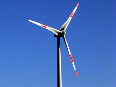 Dornum wird für seine Windenergieanlagen ausgezeichnet. (Foto: Agentur für Erneuerbare Energien e.V. )