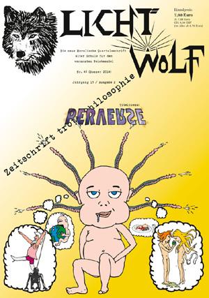 """Lichtwolf Nr. 46 mit dem Titelthema """"Perverse"""" ist als Paperback und als E-Book erhältlich. (Foto: catware.net Verlag)"""
