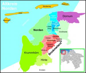 Der Altkreis Norden