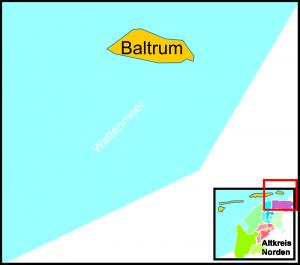 Baltrum, die kleinste der Ostfriesischen Inseln