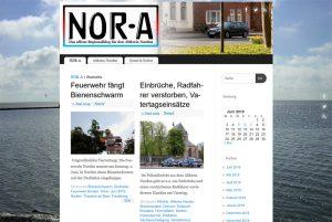 Das Regionalblog NOR-A hat eine neue alte Adresse im Internet.